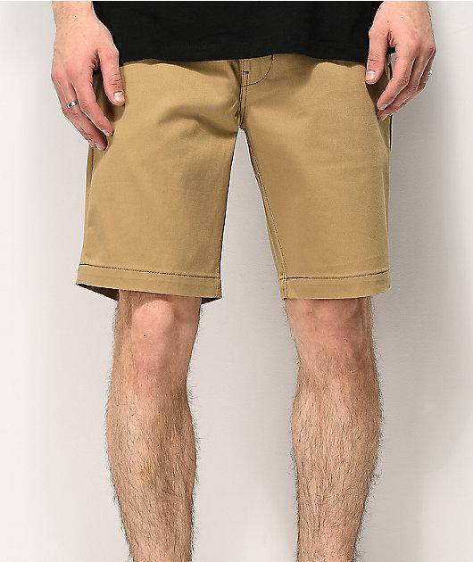 Levi's Skateboarding shorts de trabajo de caqui