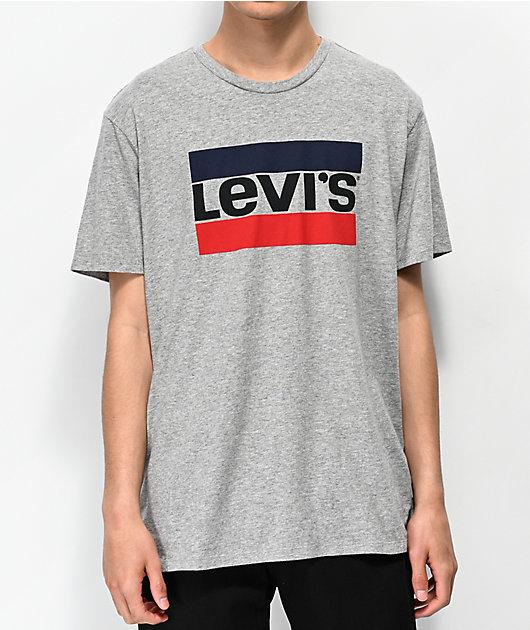 Levi's Sportswear Logo camiseta gris