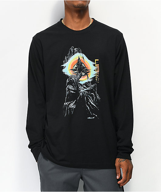Lib Tech Z-Tree Black Long Sleeve T-Shirt