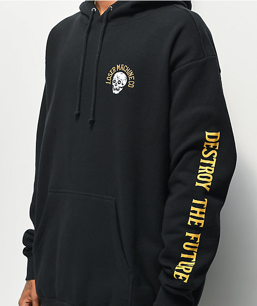 Loser Machine Gaslamp Black Hoodie