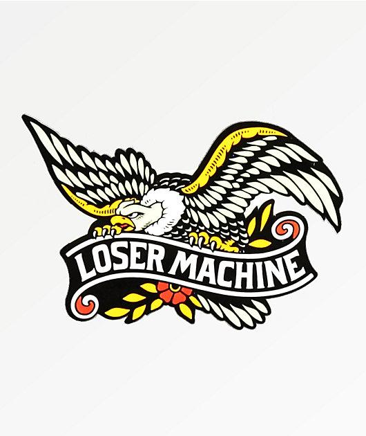 Loser Machine Glory Bound pegatina