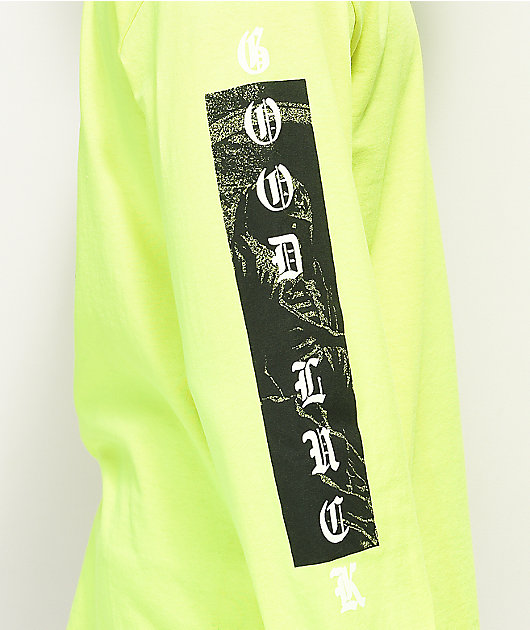 Loser Machine Last Ride Safety Green Long Sleeve T-Shirt