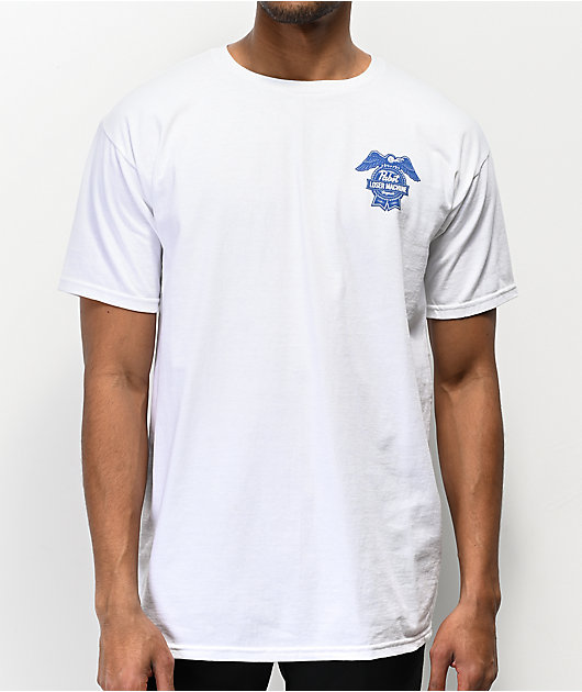 Loser Machine x PBR Condor & Ribbon White T-Shirt