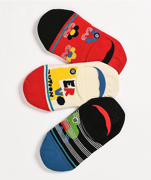 Loverlution paquete de 3 calcetines invisibles