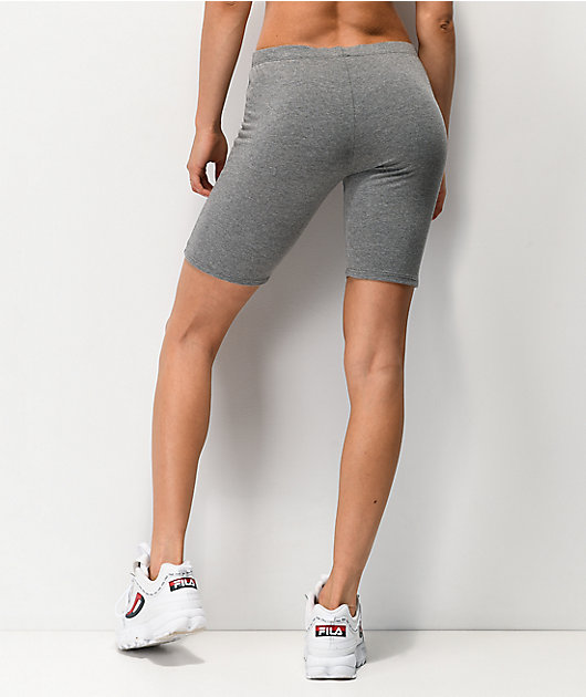 Lunachix Heather Charcoal Bike Shorts