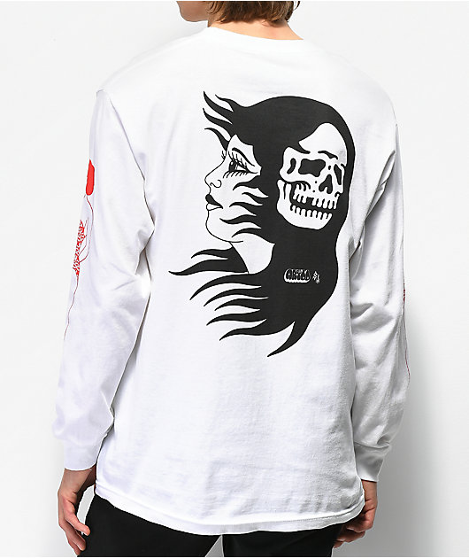 Lurking Class By Sketchy Tank Artoo camiseta blanca de manga larga