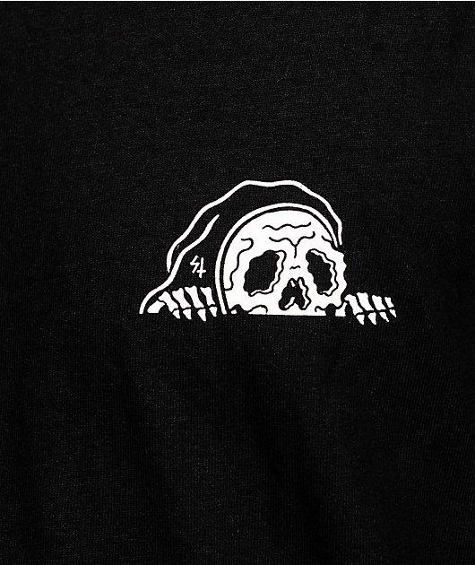 Lurking Class By Sketchy Tank Comfort Black T-Shirt