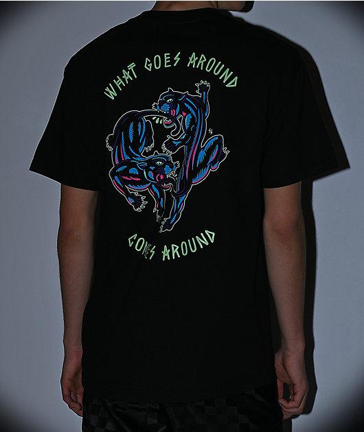 Lurking Class By Sketchy Tank Karma Color Black T-Shirt