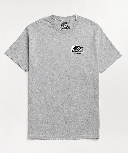 Lurking Class By Sketchy Tank Opinions Grey T-Shirt