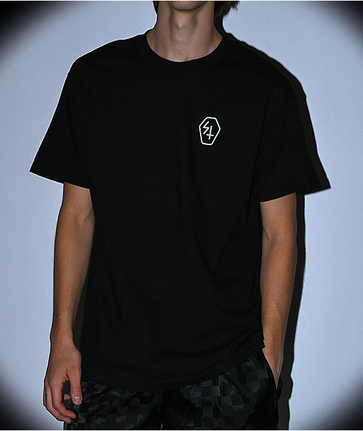 Lurking Class By Sketchy Tank Paradise Black T-Shirt