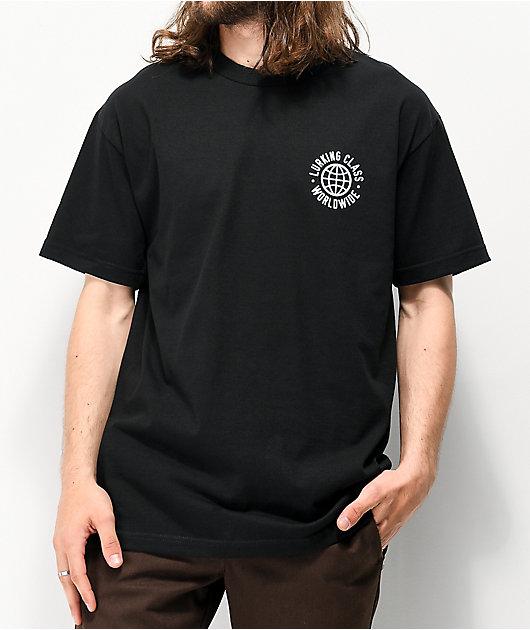 Lurking Class By Sketchy Tank Partners Black T-Shirt