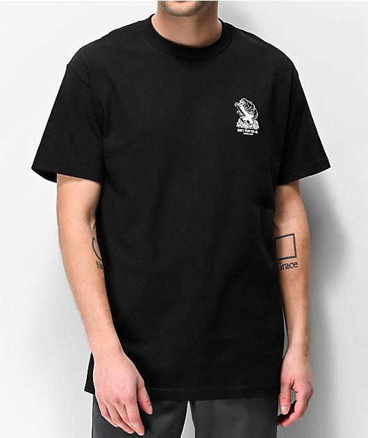 Lurking Class By Sketchy Tank Pray Panther Black T-Shirt