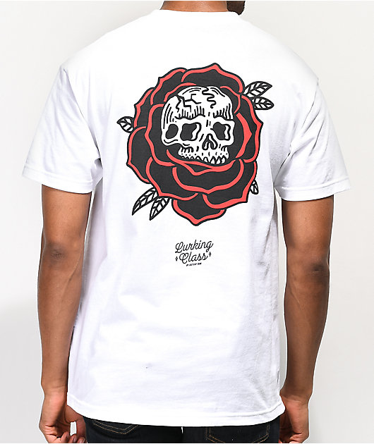 Lurking Class By Sketchy Tank Rose White T-Shirt
