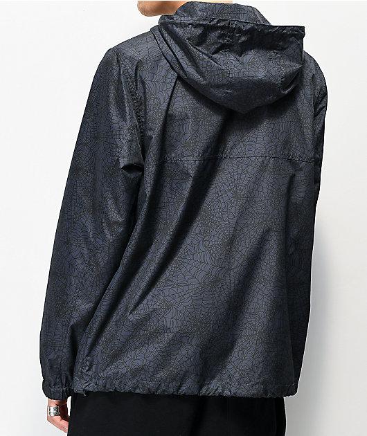 Lurking Class By Sketchy Tank Spiderweb Anorak Windbreaker Jacket