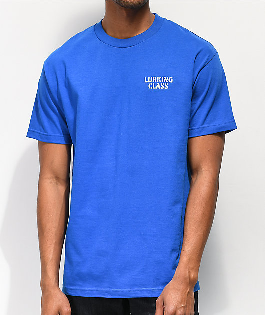 Lurking Class By Sketchy Tank Two Faced Blue T-Shirt