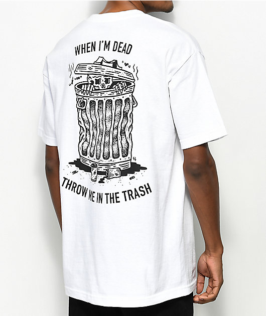 Lurking Class By Sketchy Tank When I Die White T-Shirt