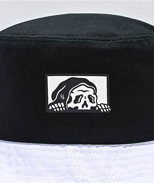 Lurking Class by Sketchy Tank Black & White Bucket Hat