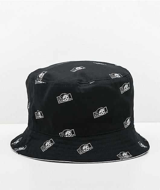 Lurking Class by Sketchy Tank Creeper Black Bucket Hat