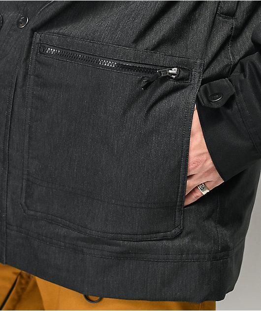 Lurking Class by Sketchy Tank Dance Black Tech Fleece Jacket