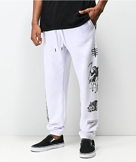 Lurking Class by Sketchy Tank Dead White Sweatpants