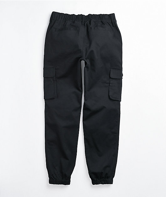 Lurking Class by Sketchy Tank Firing Black Cargo Jogger Pants