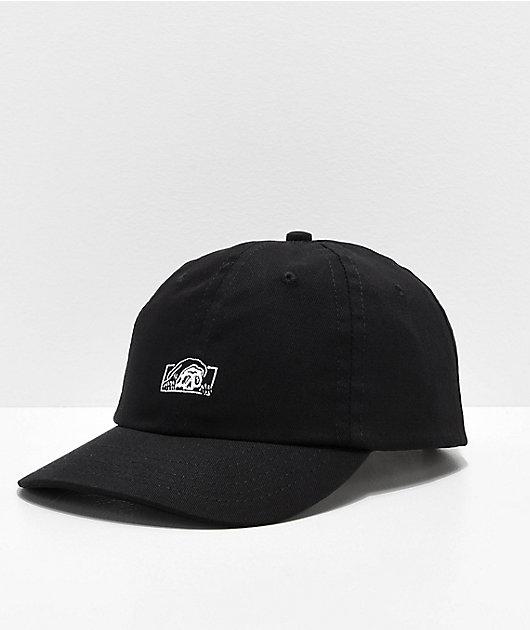 Lurking Class by Sketchy Tank Logo Black Strapback Hat