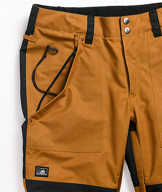Lurking Class by Sketchy Tank Lurk Wear Tobacco 10K Snowboard Pants