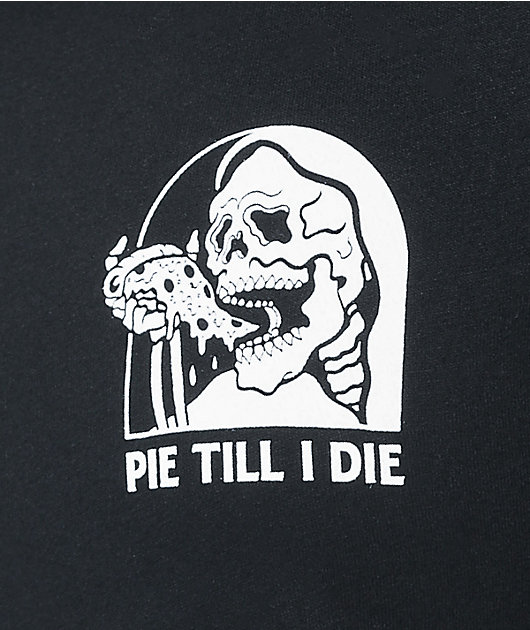 Lurking Class by Sketchy Tank Pie Till I Die Black T-Shirt