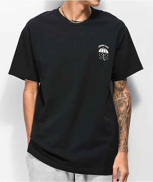 Lurking Class by Sketchy Tank Rains It Pours Black T-Shirt