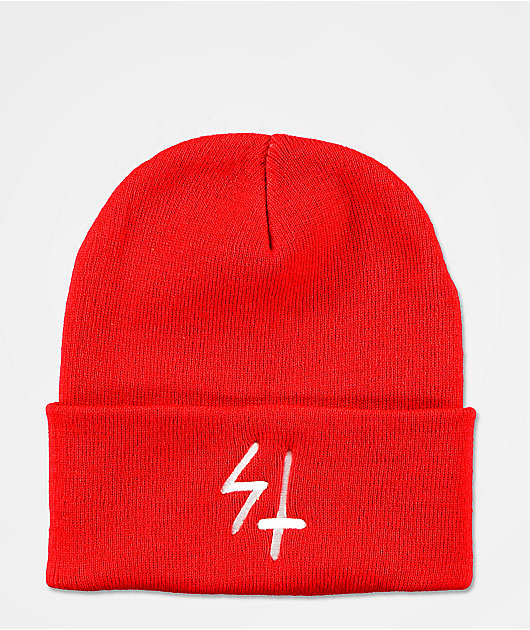 Lurking Class by Sketchy Tank Red Beanie