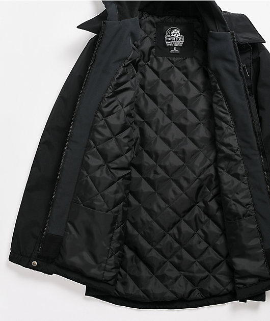 Lurking Class by Sketchy Tank Scratch Black 10K Snowboard Jacket