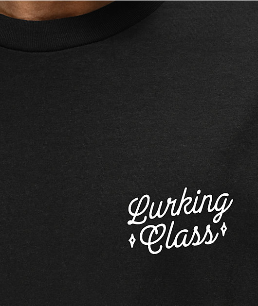 Lurking Class by Sketchy Tank Surrender Black T-Shirt