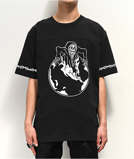 Lurking Class by Sketchy Tank Thorn Black Jersey