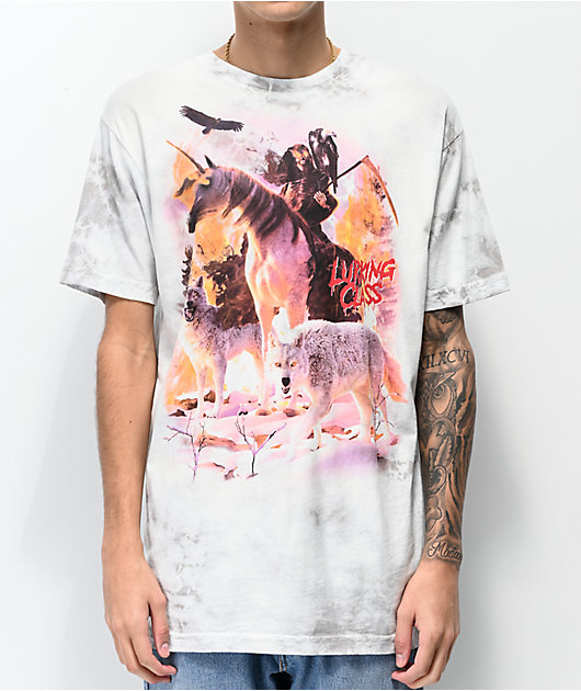 Lurking Class by Sketchy Tank Uni Reaper camiseta gris