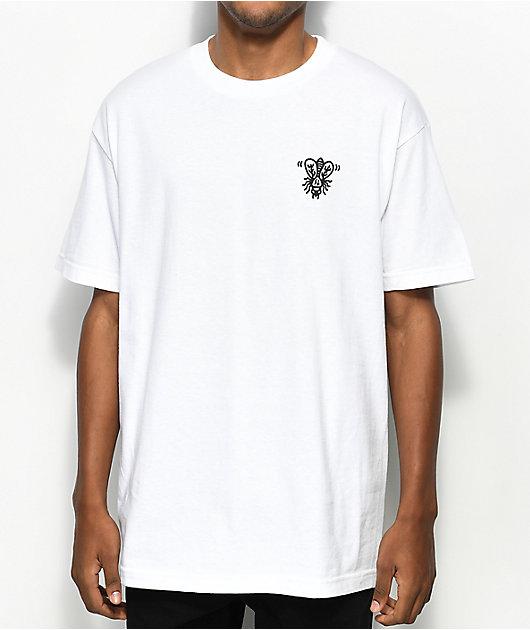 Lurking Class by Sketchy Tank When I Die camiseta blanca