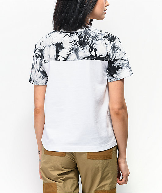 Lurking Class by Sketchy Tank White & Black Colorblock T-Shirt
