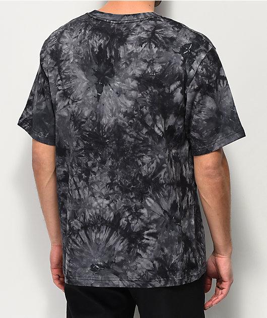 Lurking Class by Sketchy Tank Wizard Pocket Black Tie Dye T-Shirt