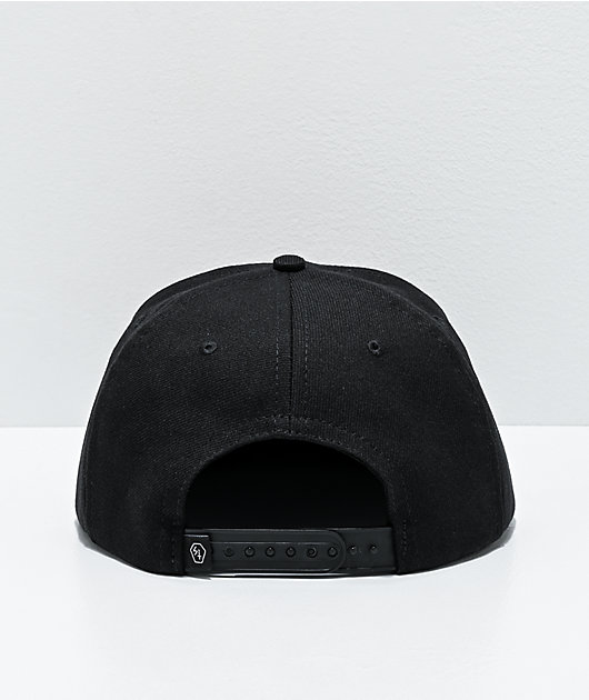 Lurking Class by Sketchy Tank Yin Yang Black Snapback Hat