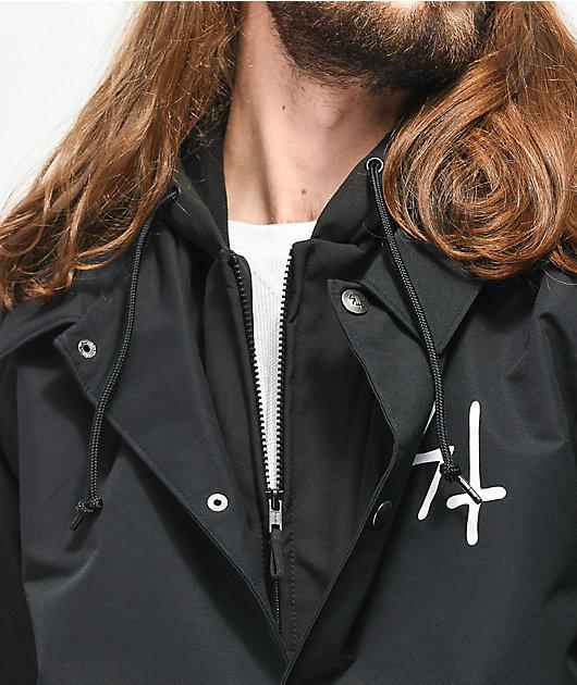 Lurking Class by Sketchy Tank chaqueta negra de polar técnico