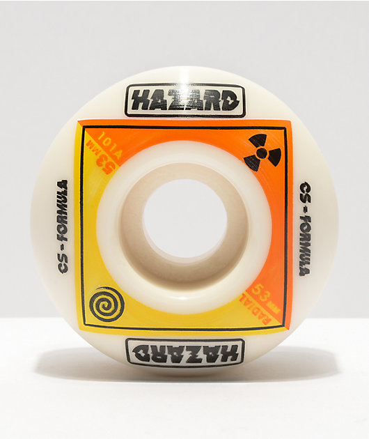 Madness Bioradial Hazard CS 53mm 101a Skateboard Wheels