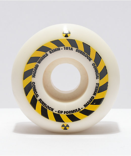 Madness Hazard Sign CP 52mm 101a Skateboard Wheels