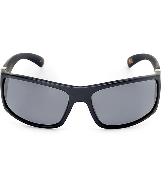 Madson Magnate Black Matte & Grey Polarized Sunglasses