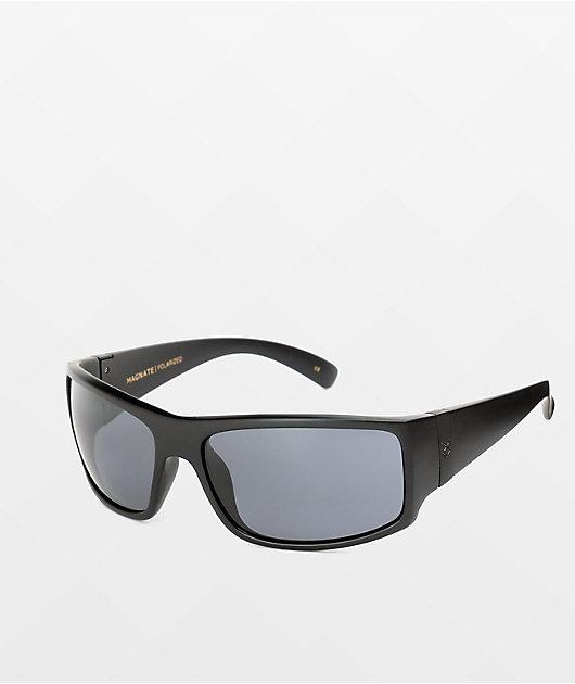 Madson Magnate Black and Grey Polarized Sunglasses