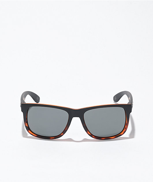 Madson Vincent Black Tortoise Shell fade Polarized Sunglasses