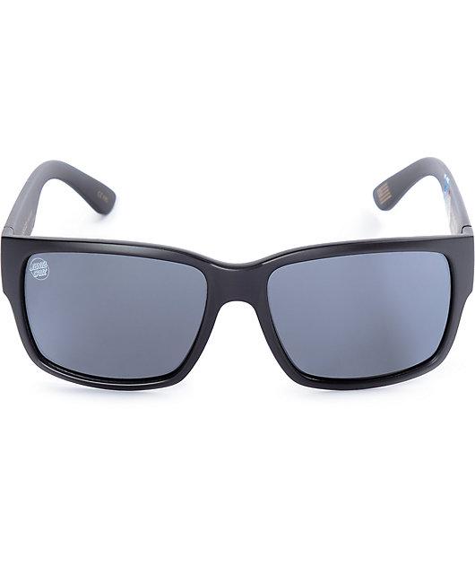 Madson X Santa Cruz Classico gafas de sol polarizados en negro