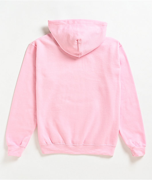 Married To The Mob Bitch Pink Hoodie