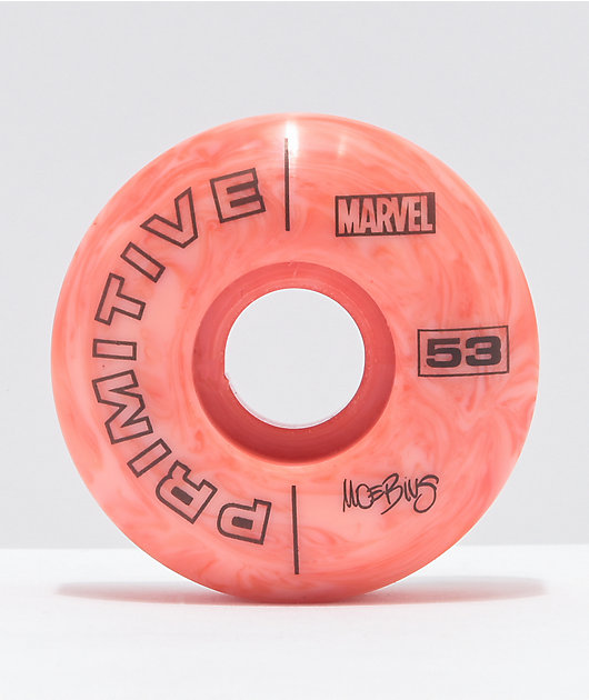 Marvel x Moebius by Primitive Rosa 53mm 101a Skateboard Wheels