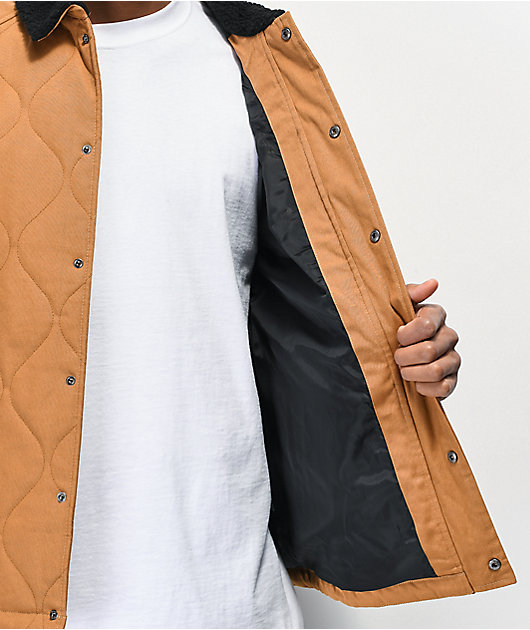 Matix 101st Quilted Brown Jacket