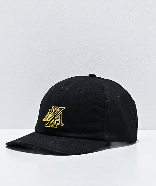 Maxallure New Yorker Black Strapback Hat