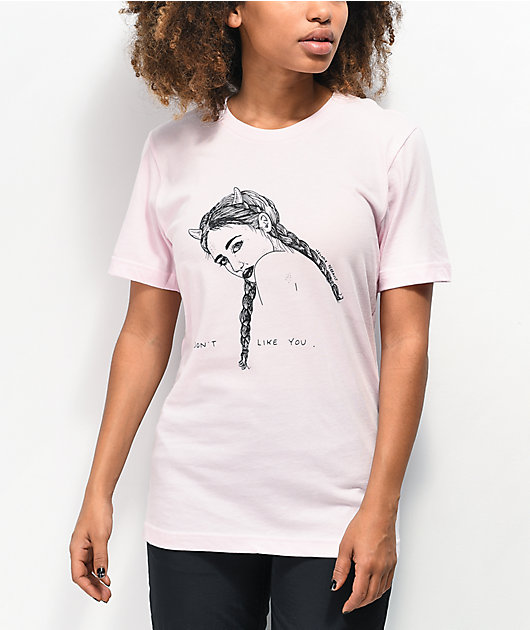 Melodie I Don't Like You Pink T-Shirt